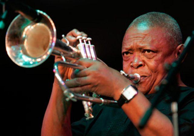 Hugh Masekela promised Ugandans a jazz filled night to remember