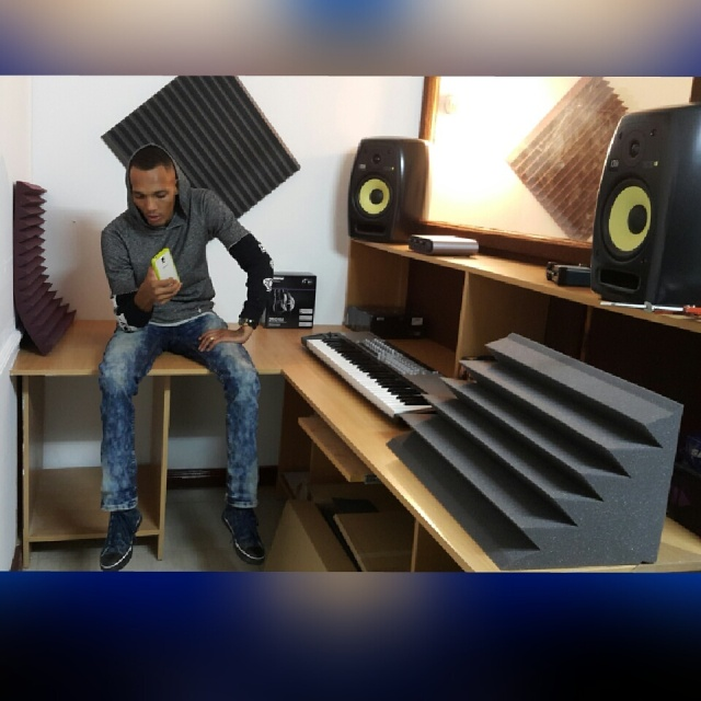 KRG on some of machines in his studio