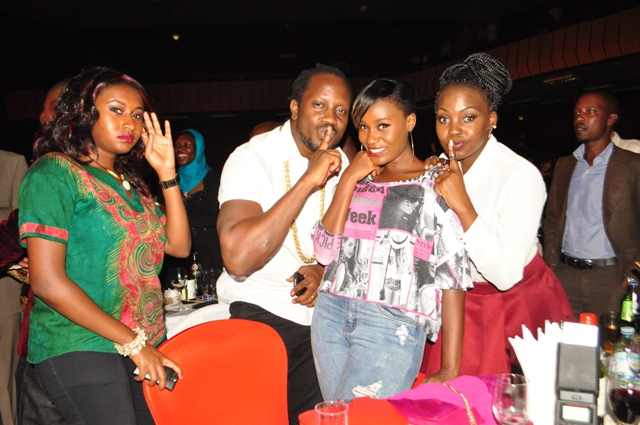 Laura Kahunde, Bebe Cool, Juliana Kanyomozi and Iryn Namubiru did not miss out on the show