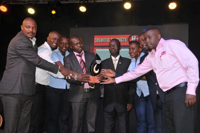 Movit Staff peoples' choice award 2015 which they won
