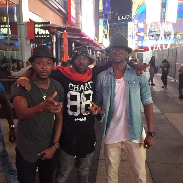 Eddy Kenzo is already in Los Angeles