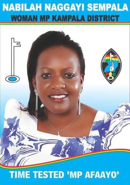 MP Nabilah Naggayi Sempala