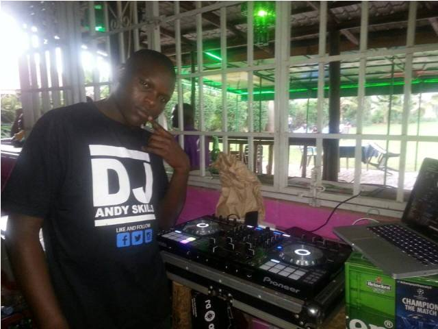 DJ Andy Skilliz is officially spinning for Kololo Gardens