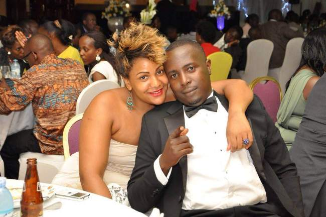 Mariyah Belinda with a male friend at a function. She was a very social lady