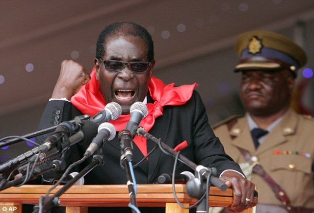 Preisdent of Zimbabwe Robert Mugabe, who is known for his brutal crusades against gay people, has mocked America's decision to legalise gay marriage across all 50 states by proposing to Barack Obama