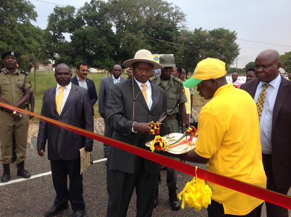 President Museveni prepares to commission Mbale-Soroti Road on Sunday