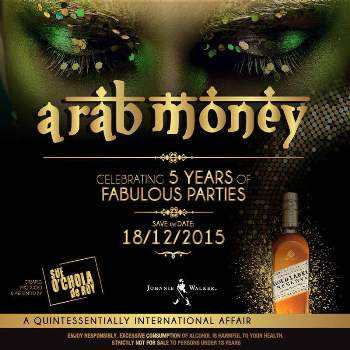 Arab Money Fab Parties has partnered with Johnnie Walker Gold Reserve