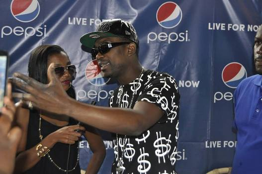 Busy Signal at a press conference yesterday