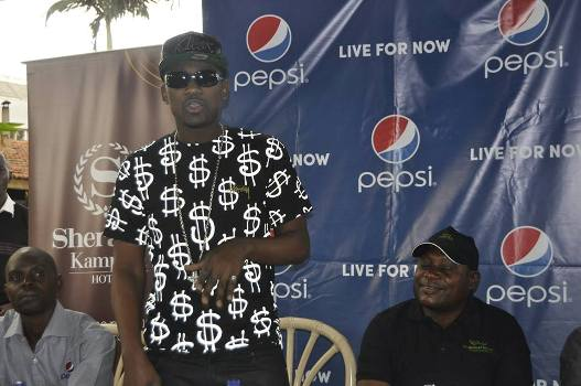 Busy Signal assured Ugandan fans that he is going to his best