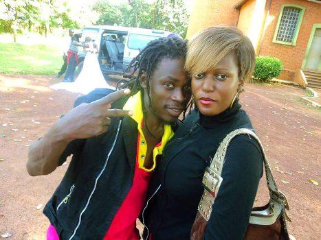 Paapa Ciddy with Maggie Kiyingi