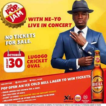 NeYo will be the main performer at Pop 'n  Jam bell concert