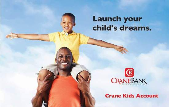 Crane Bank has started kids' account