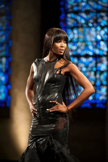 Debie was inspired by supermodel Naomi Campbell