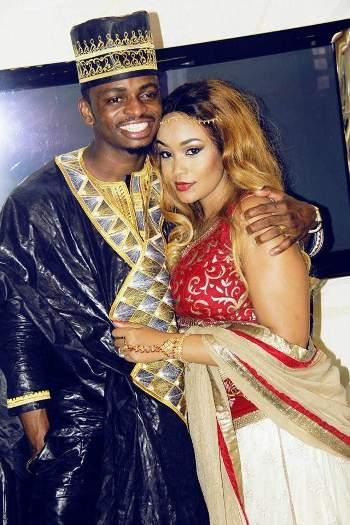 Diamond Platnumz and his babe Zari Hassan