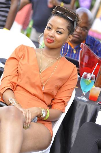 Anita Fabiola looking amazing and lovely at the event yesterday