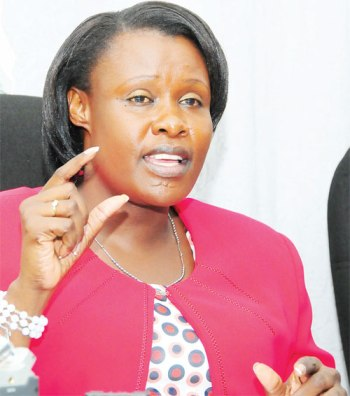 Jessica Alupo is Uganda's Minister of Education and Sports