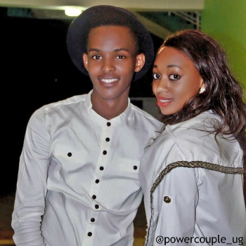 Mugume Canary and Sasha Ferguson. You can follow them on Instagram at powercouple_ug