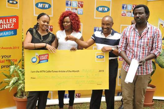 Rema has become the first winner of the MTN caller tunez online artists of the month