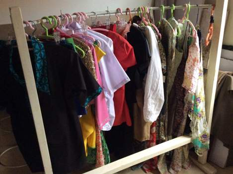 Some of Brenda Nambi's clothes