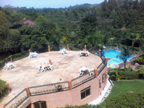 View of part of Kigezi Forest Cottages
