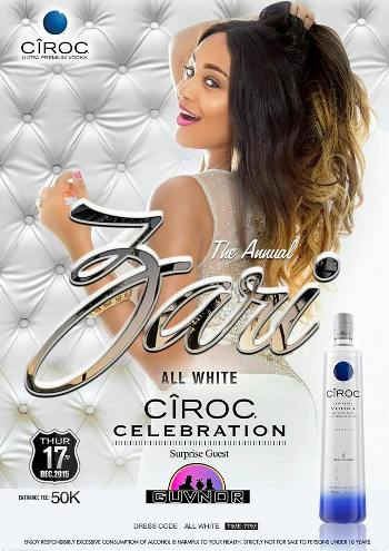 Zari's All White Ciroc party is back