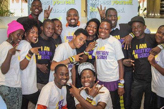 members of Ambition Mission Uganda