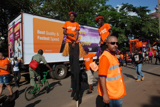 Africell King of the bundles on show at KCCA Festival on Sunday
