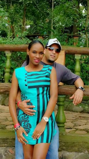 Aly Alibhai holds Sylvia's baby tummy