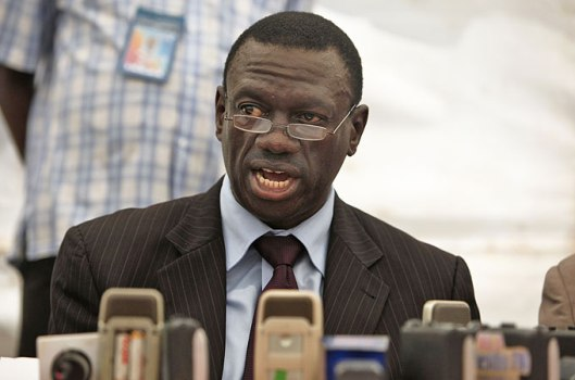 Angoliga said Kizza Besigye is selfish