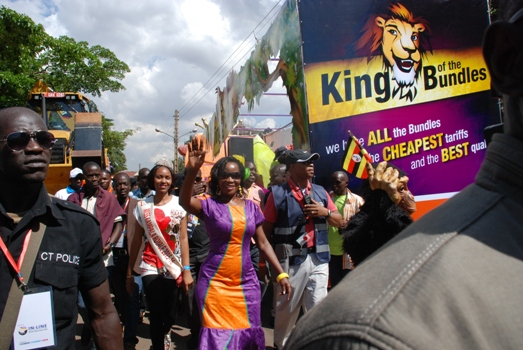 KCCA ED Jenniffer Musisi launches the Africell King of the Bundles