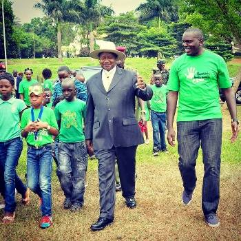 President Yoweri Museveni is expected to be the chief guest at this year's Green Christmas party