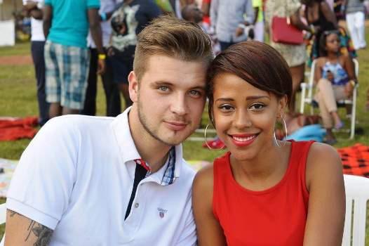 Sheila and her boyfriend Maxime