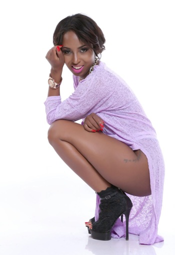Asma Uwase posing in her latest photos