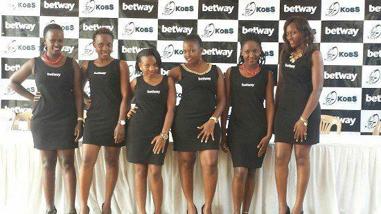 Betway Uganda ushers at the press conference