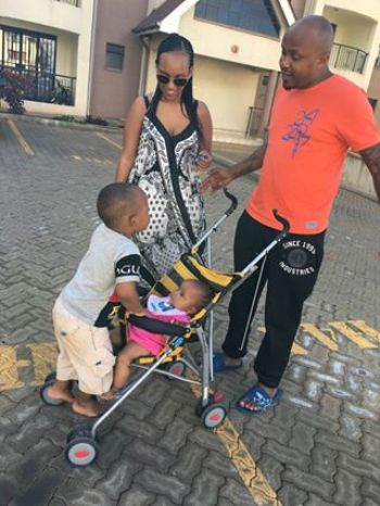 DJ Creme with his family