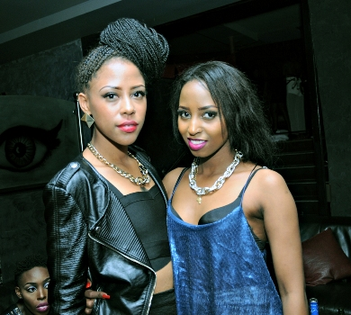 Sheila and Asma Uwase must have enjoyed the party