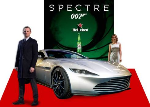 Spectre 007 will premiere in Kampala this Thursday