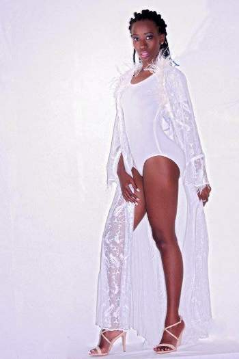The Tanzania born model is here to give Ugandans a run for their money