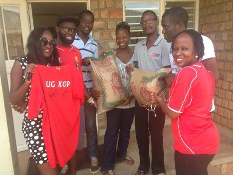 UG Kops aides elderly home in Mukono