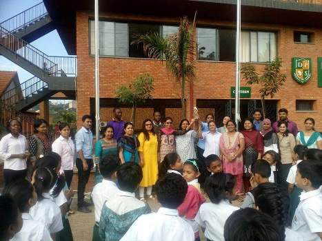 Delhi Public School International was recognised for its outstanding work
