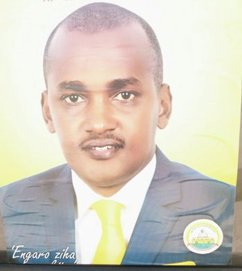 Frank is contesting for Kibaale county MP seat