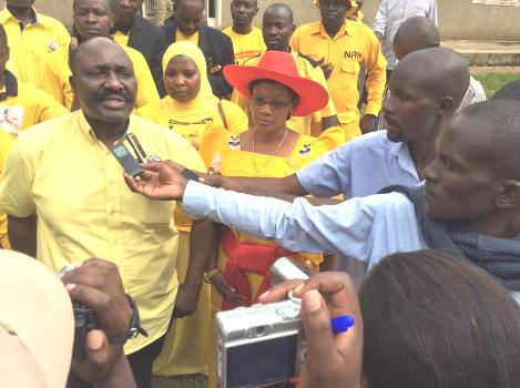 Hajji Muyanja Mbabaali seen here with his wife Mariam Najjemba is contesting for Bukoto South constituency seat in Lwengo district