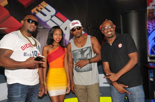 The Money and Gold team with Sheila Gashumba at NTV The Beat on Tuesday