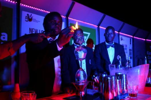 Kampala Cocktail Week launch on Wednesday