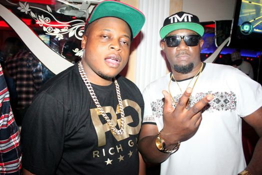 Rich Gang boss Ivan Semwanga was also starstruck by TMT boss Cameroon Gitawo