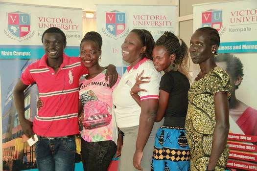 Victoria University was in Southern Sudan to get students