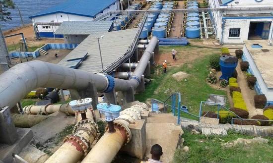 Ggaba water plant