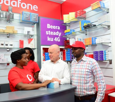 Vodafone Uganda has expanded its dealer outlets