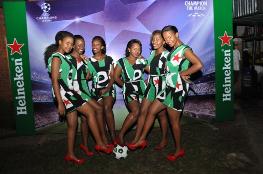 Heineken Brand Ambassadors at Champions League Finals event