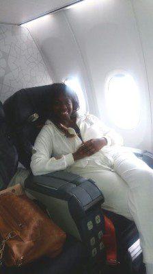 Angella Katatumba safely landed in Turkey